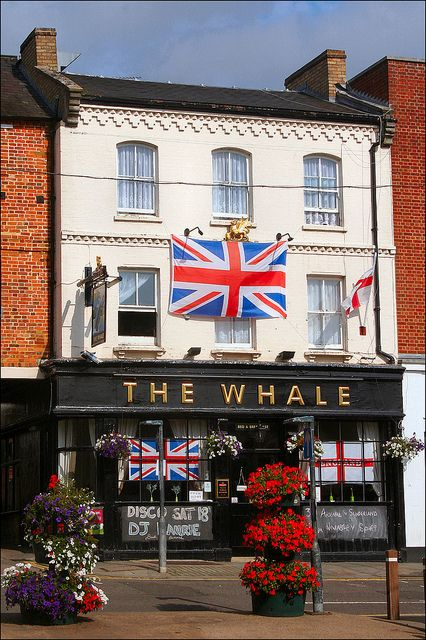 The Whale (local pub) in Buckingham by Canis Major, via Flickr