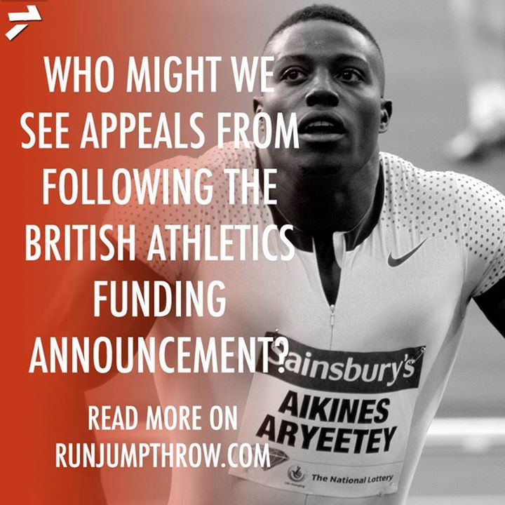 Harry Aikines-Aryeetey has already said he will be contesting the decision from British Athletics to drop him from funding. Who else could we see submit appeals? Read more: http://ift.tt/2AxsO9L
