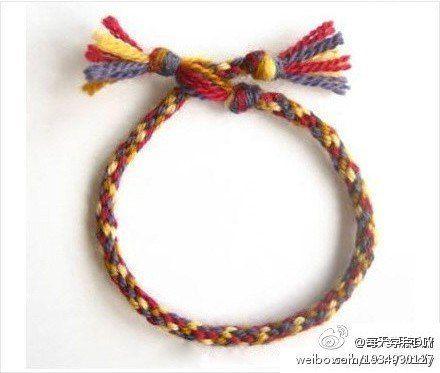 Кумихимо - Японский шнурок. Мастер-класс.
