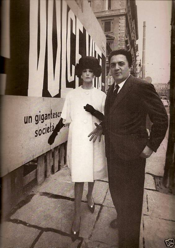 Vogue 1960, Rome, Federico Fellini