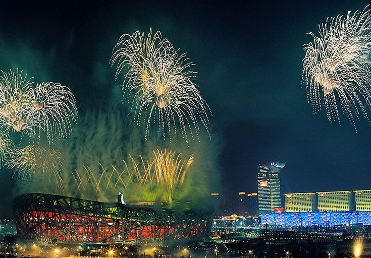 2008 Summer Olympics opening ceremony - Fireworks - Beijing - Wikipedia, the free encyclopedia