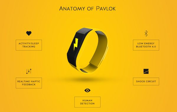 A Fitness Band That 'Shocks' Users, Reminds Them To Exercise