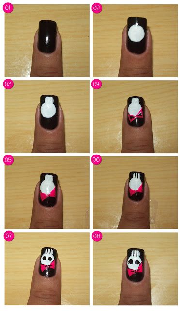 How to do halloween nail art