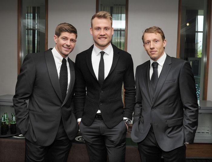 Gerrard, Miggs & Lucas at Legends Gala Dinner