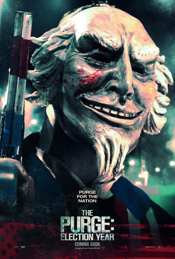 THE PURGE: ELECTION YEAR movie poster No.5