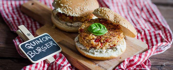 Hamburger di quinoa, per vegani e non