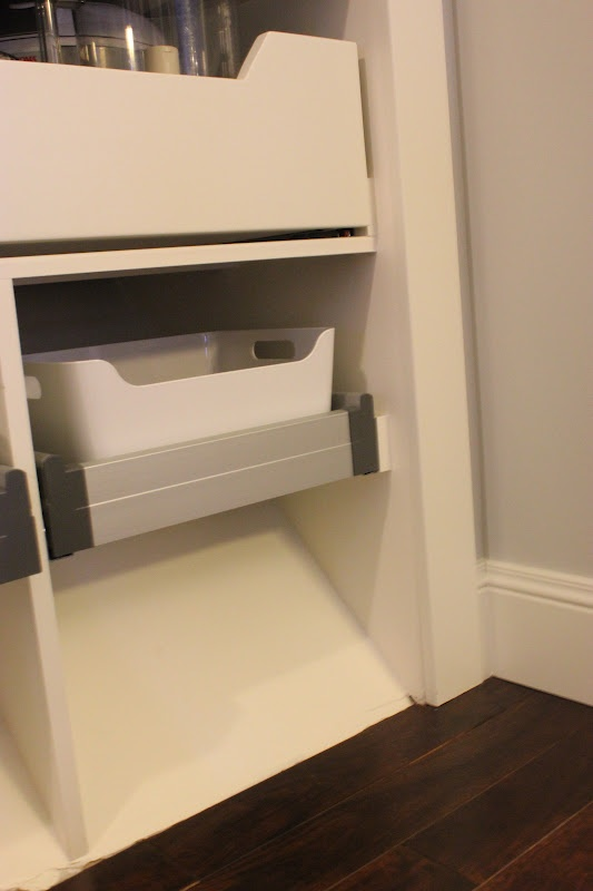 A Tree Lined Street: The {Barn Door} Pantry   Ikea Pullouts At The