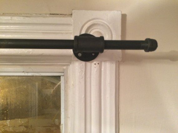 1000 Ideas About Pipe Curtain Rods On Pinterest Curtain Rods Galvanized Pipe And Galvanised Pipe