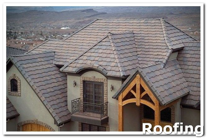 Roofing Shingles If Your Roof Is Leaking You Want To Call In A Professional Roofer To Fix The Job Asking You Concrete Roof Tiles Roof Tiles Roof Repair