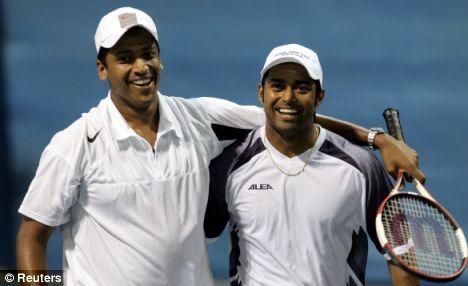Mahesh Bhupathi/Leander Paes | Indian pair Paes and Bhupathi vann 1999 herrdubbeln över P. Haarhuis/Jared Palmer 6-7, 6-3, 6-4, 7-6.