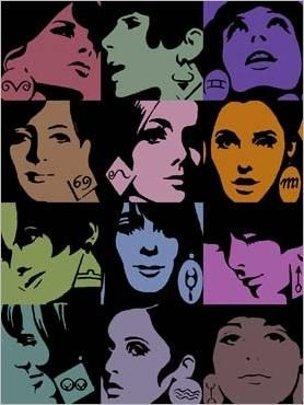 Horoscope for Elle, 1 9 6 5 by Roman Cieslewicz. He was a Polish graphic artist and photographer. @motsetphotos