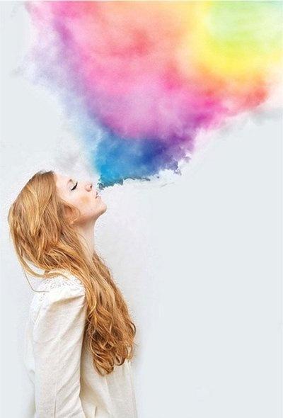 Ela respira Cor!   #ColorInspiration