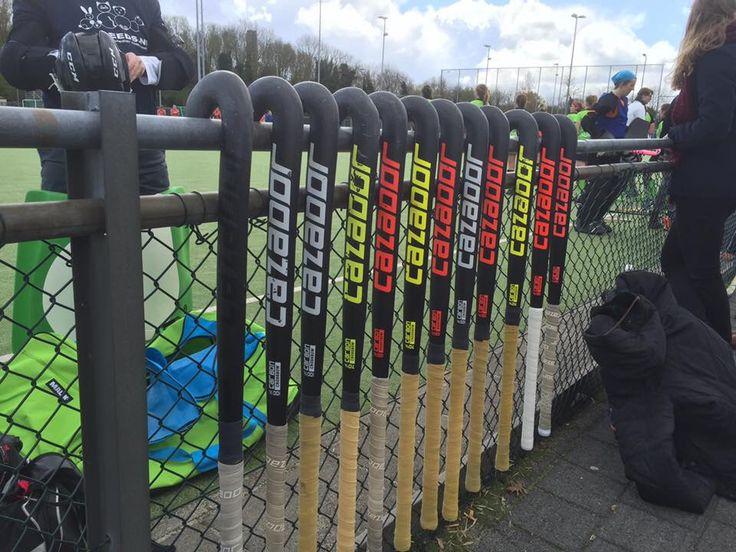Join us @teamcazador. Nu te koop bij www.hockeyhout.nl
