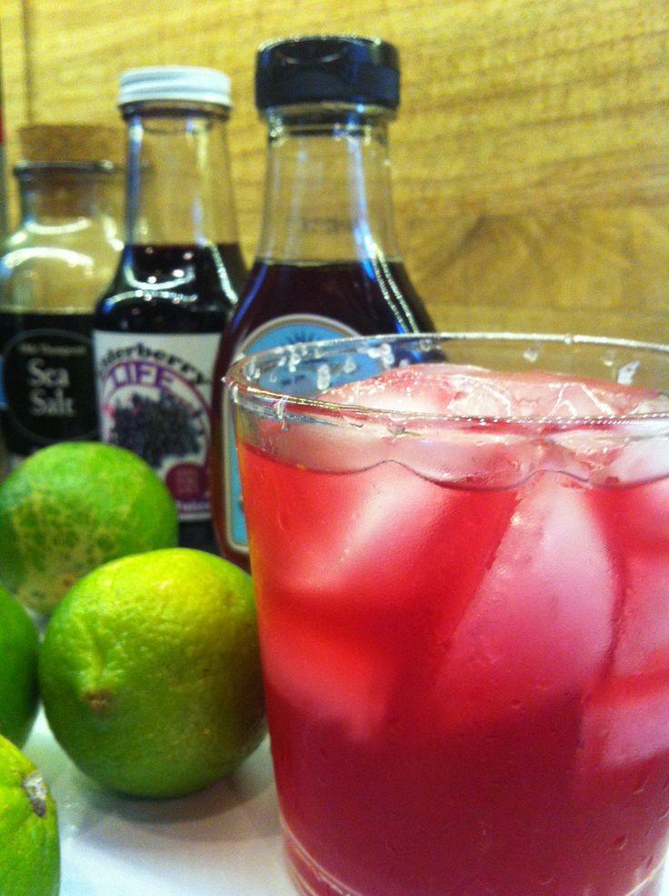 Elderberry Margarita