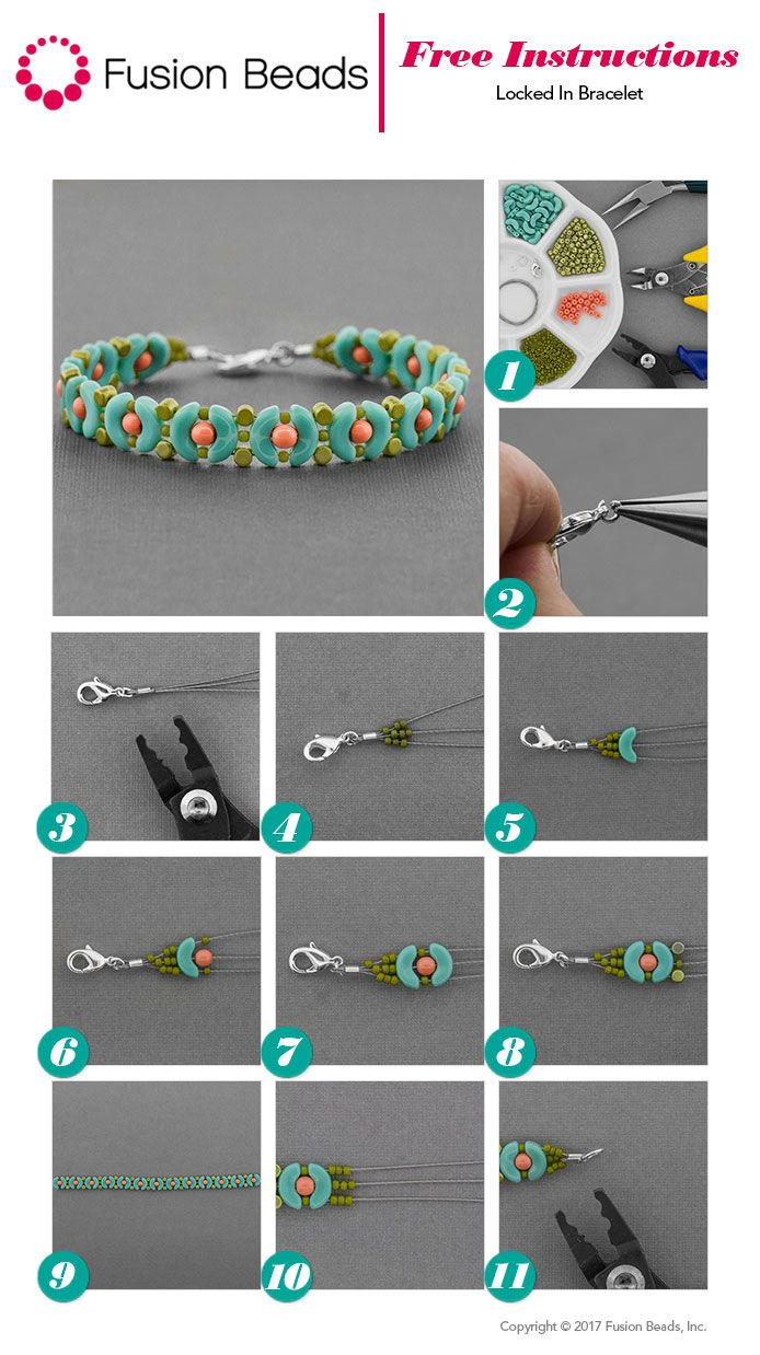 String up a fun, summery bracelet using Arcos and Minos Czech glass beads! It's the perfect beginner beading design to wear this season.