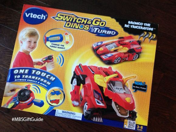 Is it a race car? Is it a dino? It's BOTH! The Vtech Switch & Go Dino is hours of fast fun. Find out more on the blog now.