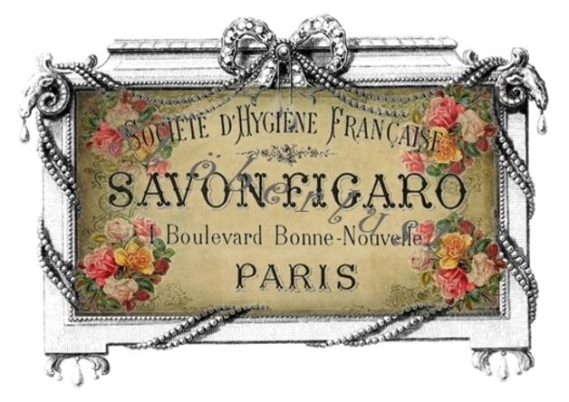 Möbeltattoo Folienaufkleber Savon Figaro FLUTHI...