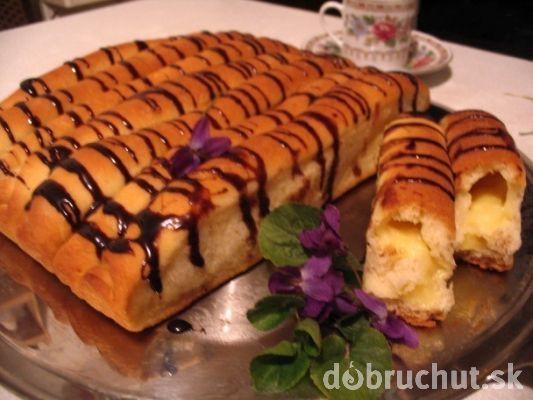 Fotorecept: Kysnuté vanilkové roládky