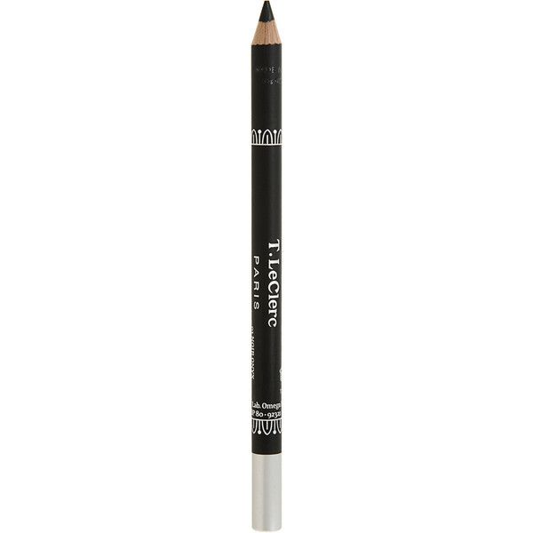 T. LeClerc Eye Pencil - Noir Onyx (65 BRL) ❤ liked on Polyvore featuring beauty products, makeup, eye makeup, eyeliner, eye pencil makeup, pencil eye liner, pencil eyeliner, oil free eyeliner and t. leclerc