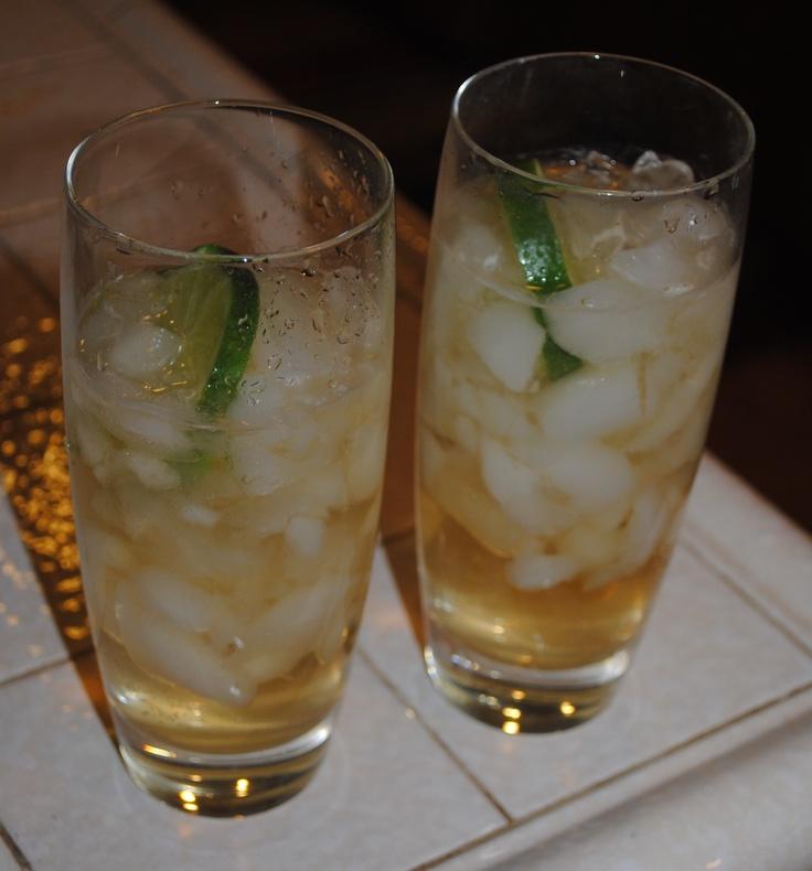 George 39 s irish whiskey cocktail irish whiskey ginger for Cocktail ginger beer
