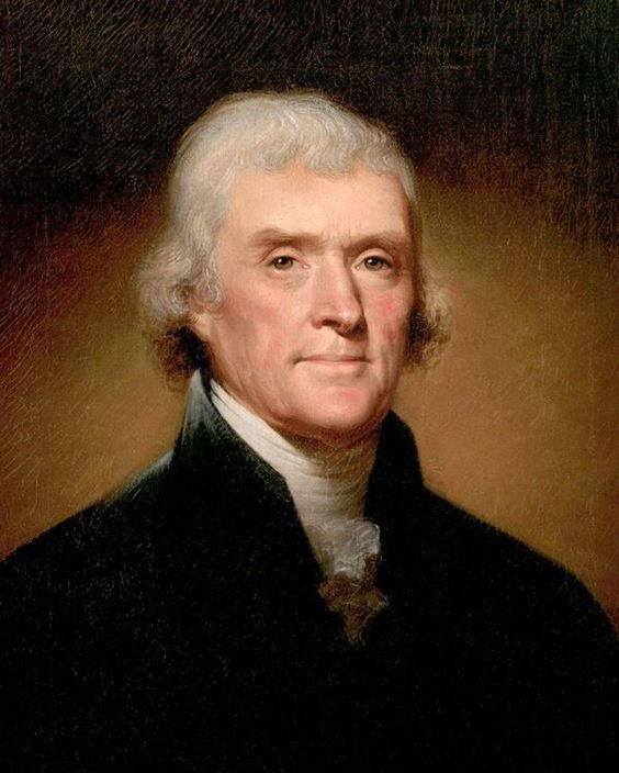 Thomas Jefferson..of the Isham family. Northamptonshire Pytchley Hall & Lamport Hall