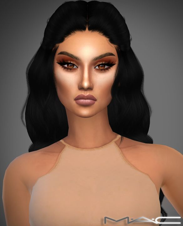 Glow Kit by MAC. Maquillage Makeup Cheveux sims