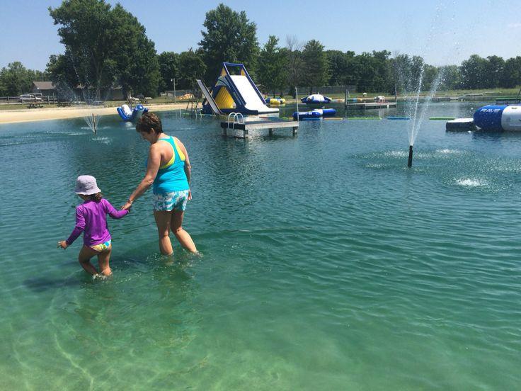 Winona Lake fun with L!!