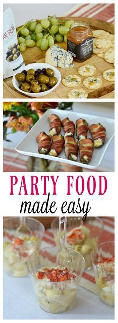 1000 images about party food appetizers on pinterest for Hosting a christmas cocktail party