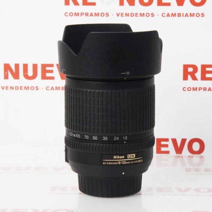 NIKKOR 18-135mm 3.5 G ED DX de segunda mano E277326 | Tienda online de segunda mano en Barcelona Re-Nuevo