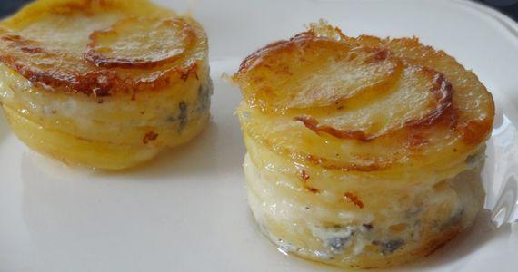 Cup-cake de pomme de terre au fromage