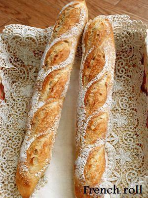 お手軽フランスパン◆◆フランスパン用強力粉が無くても大丈夫!サクッと食感が楽しめます♪