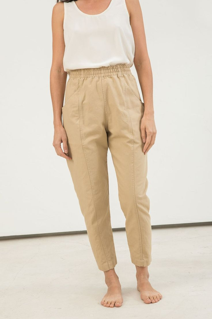 Clyde Work Pant in Cotton Canvas