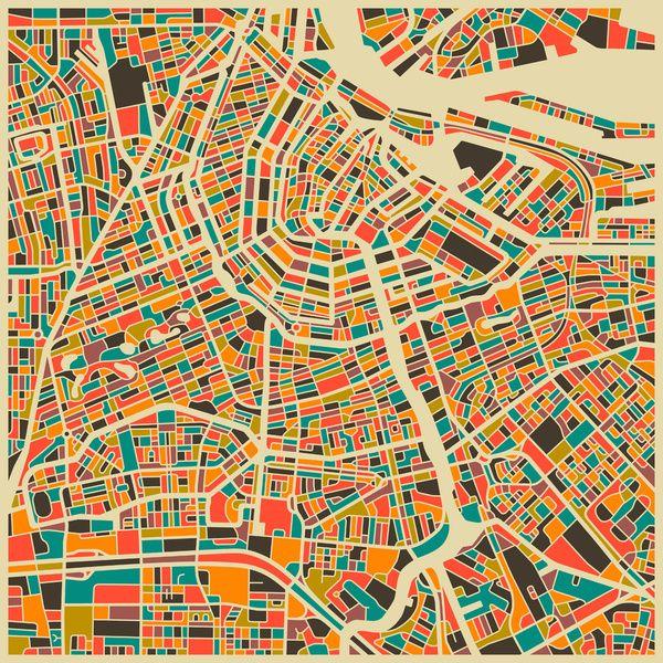 les lumieres de la ville | Et si les cartes urbaines devenaient des œuvres d'art ? | Lumières ...