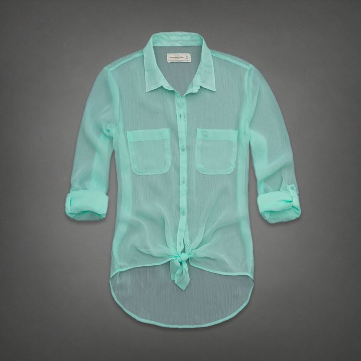 Love the color of this Chiffon shirt. <3 I want it.