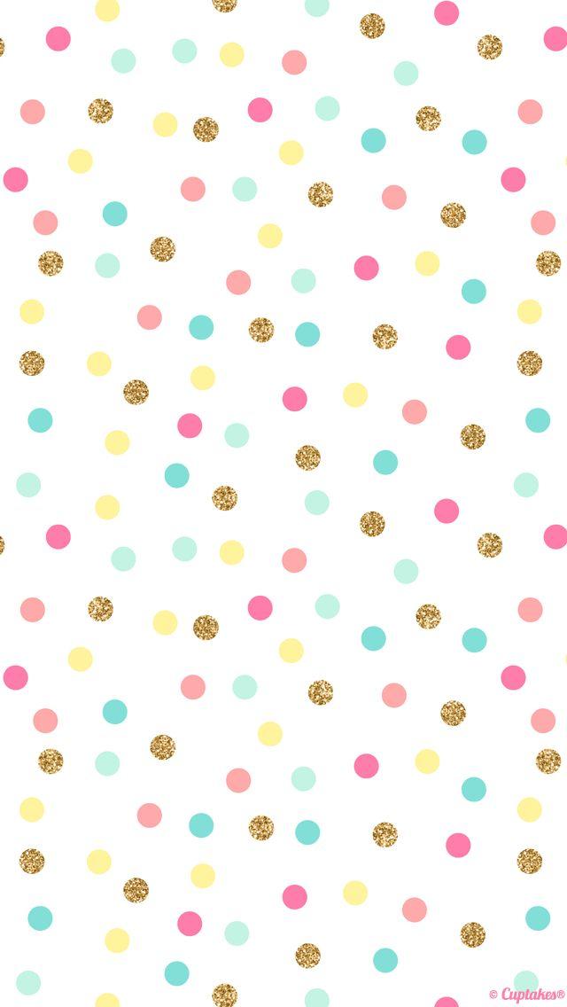 Wallpaper: Bolinhas coloridas