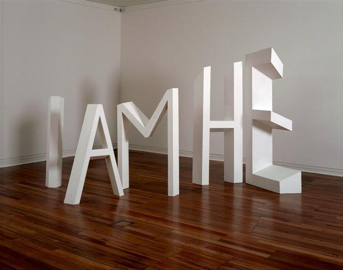 Michael Parekowhai - The Indefinite Article