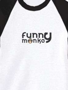 Funny monkey long tees