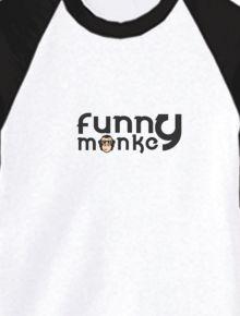 Funny monkey long tees