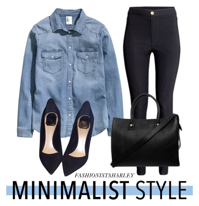 """""""Minimalist Style // Contest Entry"""" by fashionistaharley ❤ liked on Polyvore featuring H&M, Christian Dior, Paul & Joe, Minimalist and contestentry"""