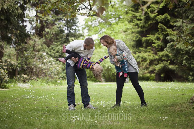 en fantastisk familiefotografering