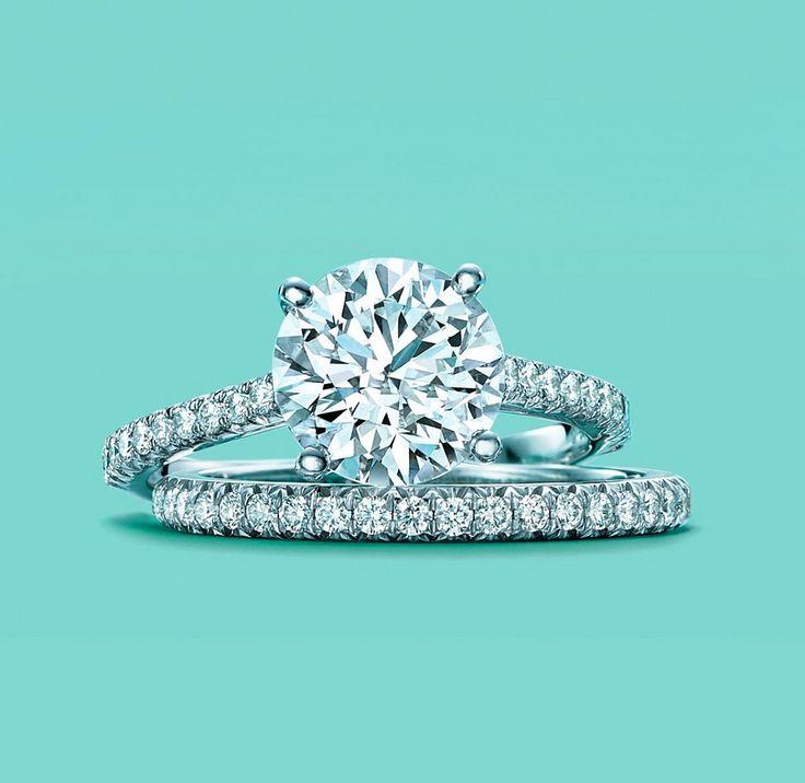 cool Потрясающие обручальные кольца Тиффани (50 фото) — Каталог коллекций и цены Читай больше http://avrorra.com/obruchalnye-kolca-tiffani-foto/