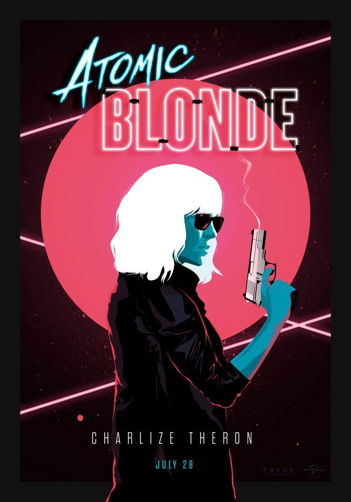 ATOMIC BLONDE Alternative poster design #AtomicBlonde