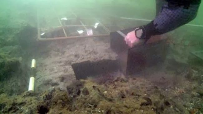 Fragile maritime archaeology in the Solent could be destroyed by the battering storms, experts have warned.   The Maritime Archaeology Trust has warned that marine archaeology in the Solent could be at risk [Credit: WPC]