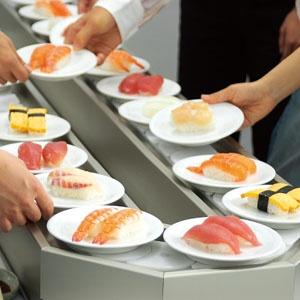 Try a conveyor belt sushi restaurant. Kuru Kuru. Did this May 22, 29. Yum!
