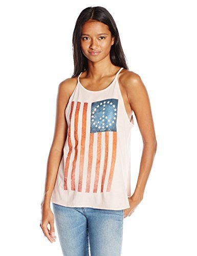 ONeill Juniors Peace Flag Americana Grahic Tank SmokeSmog XSmall -- You can find more details by visiting the image link.