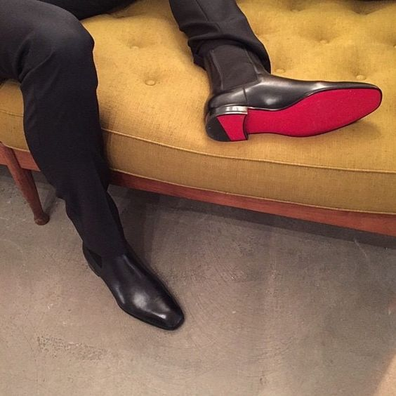 Louboutins Sign up/ subscribe/ register for the upcoming website and newsletter at www.gentlemans-essentials.com Gentleman's Essentials