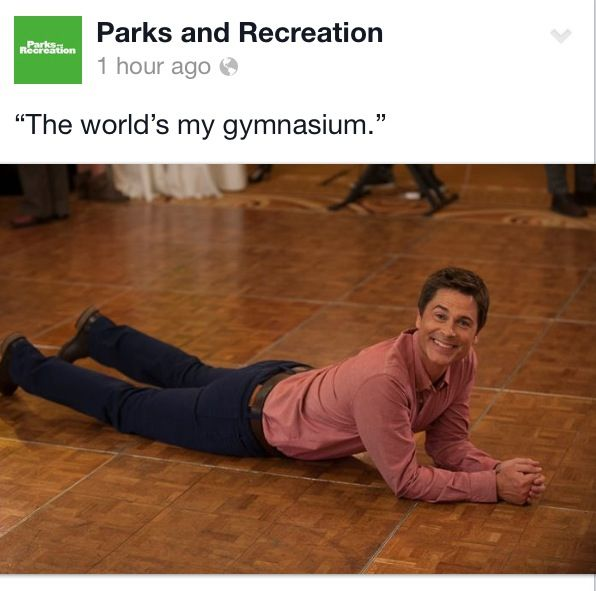 Chris Traeger, Parks and Rec