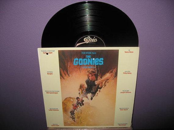 Rare Vinyl Record Goonies Original Soundtrack by JustCoolRecords, $30.00