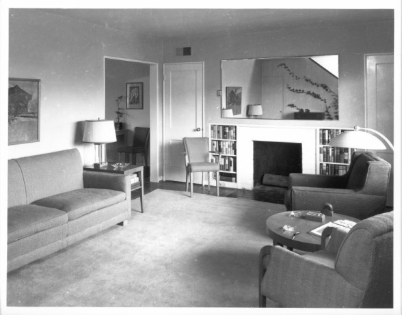 1940s living room clean and simple vintage retro for Living room 1940