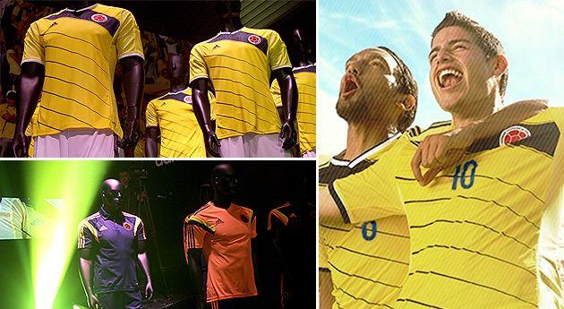 La camiseta de la selección genera amores y odios.  La nueva camiseta inspirada en símbolos patrios ha generado opiniones divididas entre los aficionados. #Futbol #Brasil2014